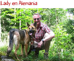 Lady en Alemania